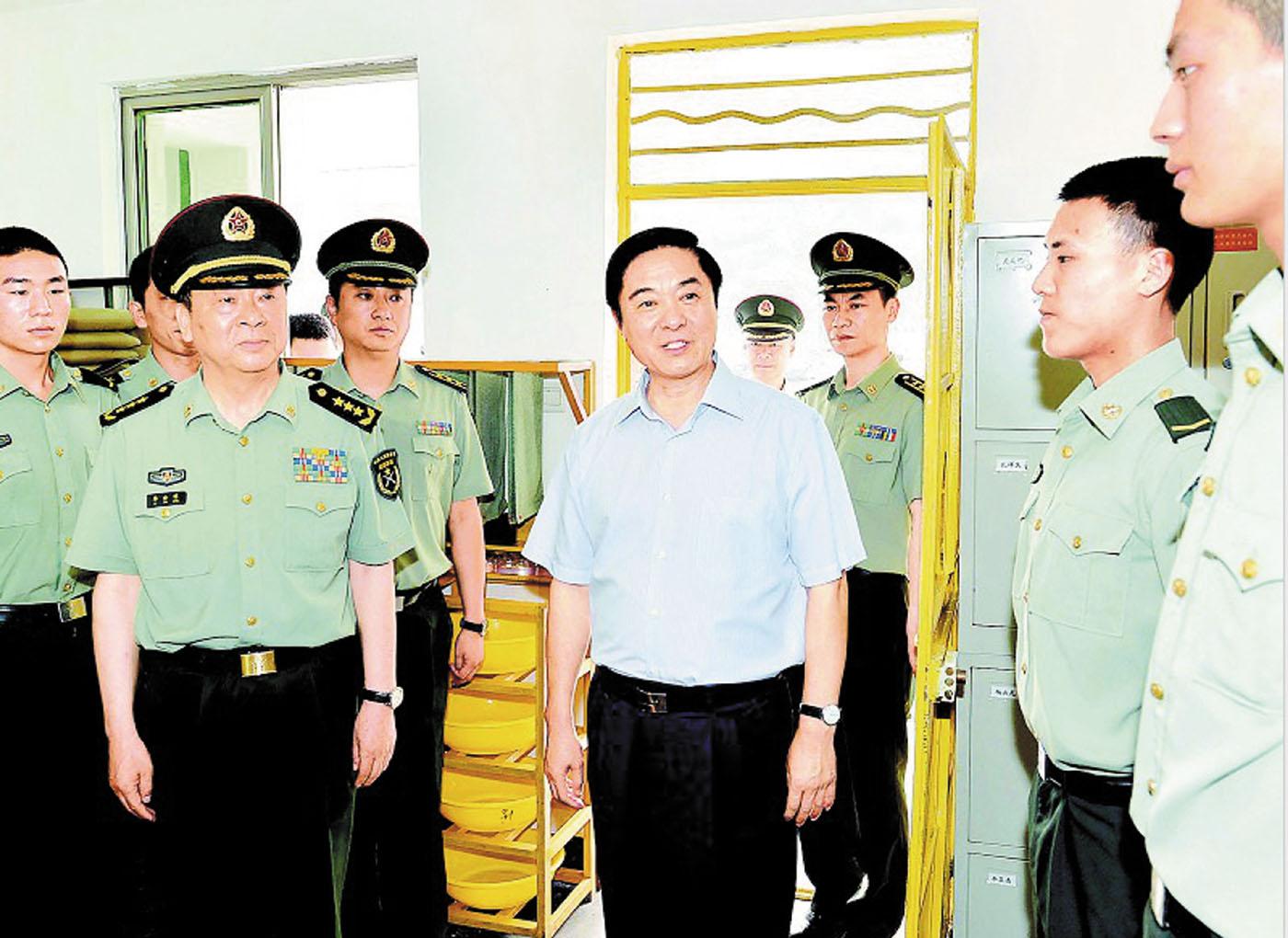 柴绍良_战略支援部队新任政委